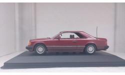 Mercedes-Benz 300 CE Coupe C124, 1989, Almandin rot