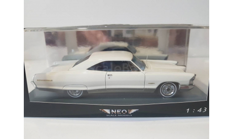 Pontiac Bonneville 2-Door Coupe 1968, масштабная модель, NEO, 1:43, 1/43