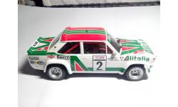 Модель Fiat 131 Rally Alitalia, сборная модель автомобиля, 1:24, 1/24, Italeri