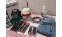 Набор для покраски:  окрасочный бокс, компрессор, аэрограф и комплектующие., инструменты для моделизма, расходные материалы для моделизма