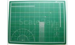 Коврик для резки А2 450х600мм  зелёный - почта по России бесплатно