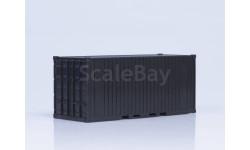 Одним лотом: Контейнер 20 футов (142x56x61), неокрашенный-2шт  SSM; декали-контейнера 2шт Maksiprof