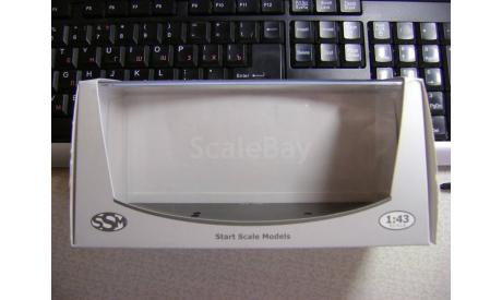 Коробка с блистером SSM (ДУ-50), боксы, коробки, стеллажи для моделей