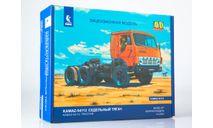 Сборная модель КАМАЗ-54112 седельный тягач 1412AVD, сборная модель автомобиля, AVD Models, 1:43, 1/43