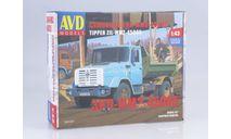 Сборная модель ЗИЛ-ММЗ-45085, сборная модель автомобиля, AVD Models, 1:43, 1/43