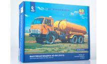 Сборная модель Вакуумная машина КО-505 (53213) 1413AVD, сборная модель автомобиля, AVD Models, scale43, КамАЗ