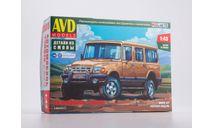 Сборная модель Автомобиль 230810, сборная модель автомобиля, AVD Models, scale43, ГАЗ