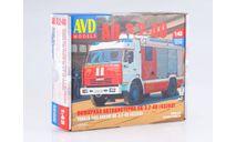 Сборная модель АЦ-3,2-40 (43253), сборная модель автомобиля, КамАЗ, AVD Models, 1:43, 1/43