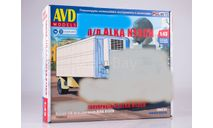 Полуприцеп ALKA N13CH, сборная модель автомобиля, AVD Models, 1:43, 1/43