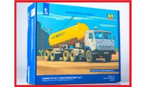 Сборная модель КАМАЗ-54112 с полуприцепом ТЦ-11, сборная модель автомобиля, AVD Models, 1:43, 1/43