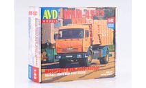 Сборная модель мусоровоз МКМ-4503 (43253), сборная модель автомобиля, КамАЗ, AVD Models, 1:43, 1/43