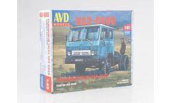 Сборная модель Седельный тягач КАЗ-608В, сборная модель автомобиля, AVD Models, scale43