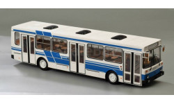 Лиаз 5256 бело-синий, масштабная модель, Classicbus, scale43