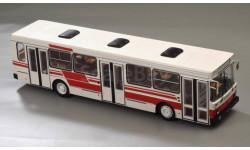 Лиаз 5256 бело-красный, масштабная модель, Classicbus, scale43