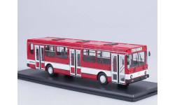 Масштабная модель Ликинский автобус 5256 городской (красный/белый), масштабная модель, ЛиАЗ, 1:43, 1/43