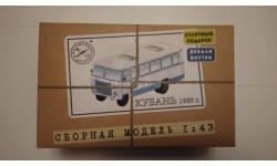 Сборная модель Кубань-Г1А1-02, 1989 г., сборная модель автомобиля, AVD Models, 1:43, 1/43