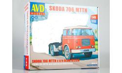 Сборная модель SKODA-706 MTTN, сборная модель автомобиля, Škoda, AVD Models, 1:43, 1/43