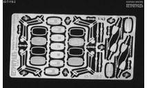 Зеркала КамАЗ старого образца с 'дворниками', фототравление, декали, краски, материалы, Петроградъ и S&B, scale43