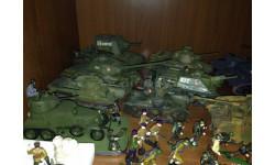 Коллекция моделей и пехоты второй мировой 1/35
