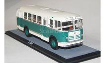 Лиаз-158В бело-зеленый.ClassicBus., масштабная модель, 1:43, 1/43