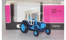 Трактор МТЗ-82.Синий обвес.Пластик., масштабная модель, scale43