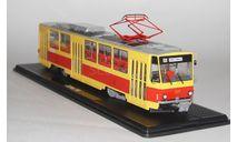 Трамвай Татра-Т6В5 с маршрутом.SSM, масштабная модель, Tatra, Start Scale Models (SSM), scale43