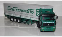 МАЗ-5440 с п/п МАЗ-9758 Совтрансавто.АИСТ., масштабная модель, Автоистория (АИСТ), scale43