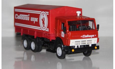 Камаз-53212 Советский Цирк.Клоун.АРЕК., масштабная модель, Элекон, scale43