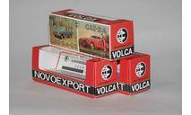 Коробка для номерных моделей Волга НОВОЭКСПОРТ.Репринт., боксы, коробки, стеллажи для моделей