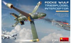 MiniArt 40002 Истребитель Focke-Wulf Triebflügel 1/35, сборные модели авиации, 1:35