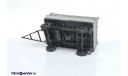 Прицеп тракторный самосвальный ПТС - 4,5 в масштабе 1:43 (Скидка 20%), масштабная модель трактора, 1/43