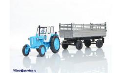 Прицеп тракторный самосвальный ПТС - 4,5 в масштабе 1:43 (Скидка 20%)