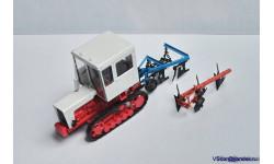 Плуг отвальный ПЛН 3 - 35 ( 1:43), масштабная модель трактора, 1/43, Ручная работа, ПЛН 3 -35