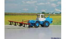 Плуг отвальный ПЛН 5 - 35 ( 1:43), масштабная модель трактора, 1/43, Ручная работа, ПЛН 5 -35