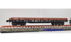 Платформа железнодорожная мод 13 4012