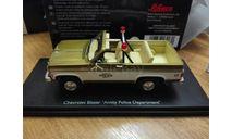 Chevrolet Blazer Amity Police Department 1972-1974 Schuco pro R, масштабная модель, scale43