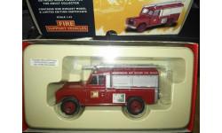 Land Rover Leicestershire & Rutland Fire Cervice Corgi