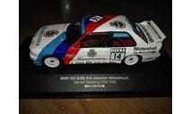 BMW M3 (E30) Norisring DTM 1992 Joachim Winkelhock CMR, масштабная модель, IXO Rally (серии RAC, RAM), scale43