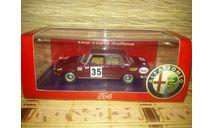 Alfa Romeo 1750 Berlina Tour de France 1968 M4, масштабная модель, 1:43, 1/43