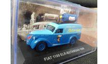 Fiat 1100 ELR 1948, масштабная модель, Atlas, scale43