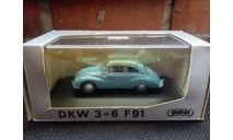 DKW 3=6 F91 Schuco, масштабная модель, scale43