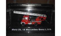 Mercedes-Benz L319 Metz DL18 Altaya, масштабная модель, scale72