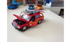 Range Rover 2001 Airport Fire Service  1/24 Bbburago, масштабная модель, 1:24