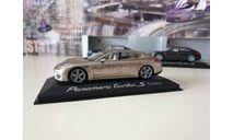 Porsche Panamera Turbo S executive 2014 1/43 Minichamps, масштабная модель, scale43