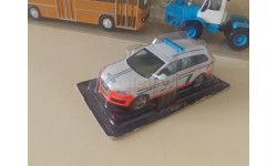 Полицейские машины мира №28 Audi Q7 Полиция Люксембурга 1/43
