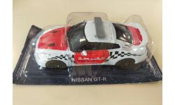 Полицейские машины мира №51 Nissan GT-R Полиция Арабских Эмиратов 1/43