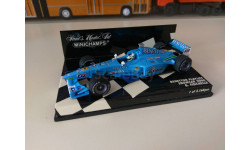 Benetton B200 showcar F1 2000 Fisichella 1/43 Minichamps