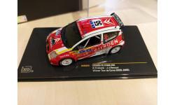 Citroen C2 S1600 Winner Rally Tour de Corse WRC 2006 1/43 Ixo, масштабная модель, 1:43, IXO Rally (серии RAC, RAM), Citroën