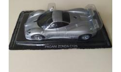 Суперкары №21 Pagani Zonda C12S 1/43