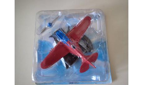 Легендарные самолеты №67 И-17 1/77, журнальная серия масштабных моделей, DeAgostini, Поликарпов